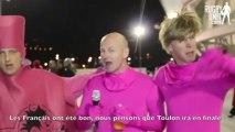 ITW suporters après RC Toulon-Cardiff