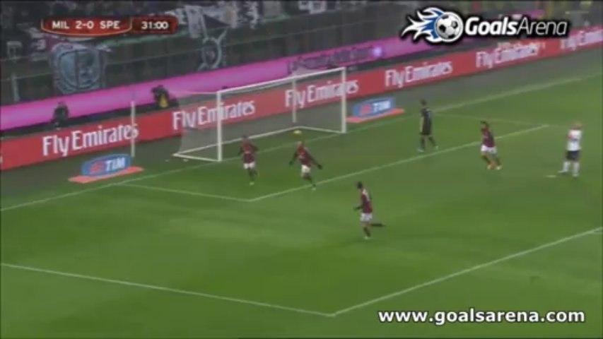 AC Milan 3-1 Spezia (Coppa Italia)