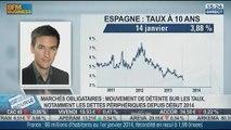 Détente généralisée des taux sur les marchés obligataires: Axel Botte, dans Intégrale Bourse - 14/01