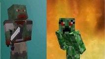 Epic Rap Battles of Minecraft - Zombie Boss vs Creeper Boss - Epic Rap Battles of Minecraft #15