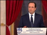 """Hollande: """"Il nous faut produire plus, mieux. Il nous faut agir sur l'offre"""" - 14/01"""