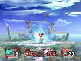 Super Smash Bros. Brawl - MetaKnight en feu
