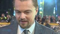 Leonardo DiCaprio Kisses Girlfriend Toni Garrn After Golden Globes Win