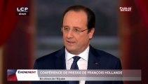 Conférence de presse de François Hollande - Evénements
