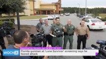 Florida Gunman At 'Lone Survivor' Screening Says He Feared Attack