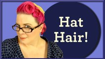 Fabulous Vintage/Rockabilly Hairstyle for an Equally Fabulous Vintage Hat