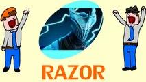 Dota 2 - Drow AND Viper, Oh God - Razor - DoTheGames