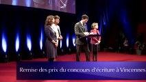 Concours d'écriture à Vincennes pour tous les quartiers avec Véronique Olmi Henry Gruvman Josy Top Laurent Lafon