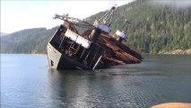Barge de bois