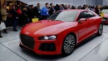 Audi Sport Quattro Laserlight concept at CES 2014