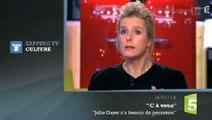 Zapping TV : Karin Viard prend la défense de Julie Gayet