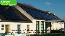 Quimper : capteurs solaires photovoltaïques