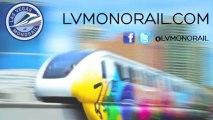 Las Vegas Monorail Coverage of CES 2014 | Las Vegas Transportation pt. 9
