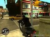 Grand Theft Auto : Liberty City Stories - A moto dans Liberty City