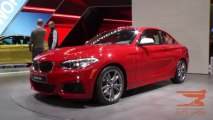 BMW 2 Series Coupe, BMW M3 Sedan and BMW M4 Coupe 2014 NAIAS