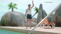 Camping Yelloh! Village - Campagne publicitaire web avec Stéphane Bern