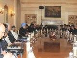 PM Manmohan Singh meets S.Korea President  Park Geun Hye