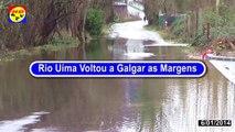 Rio Uíma Galgou as margens ( noticias )