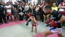Muay Thai Kid - 5 Years old kid is a champion!