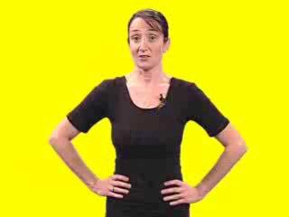 Gym en video : relevés sur les genoux