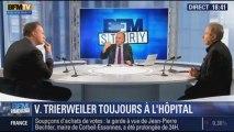 BFM Story: Blackout autour de l'état de santé de Valérie Trierweiler - 16/01
