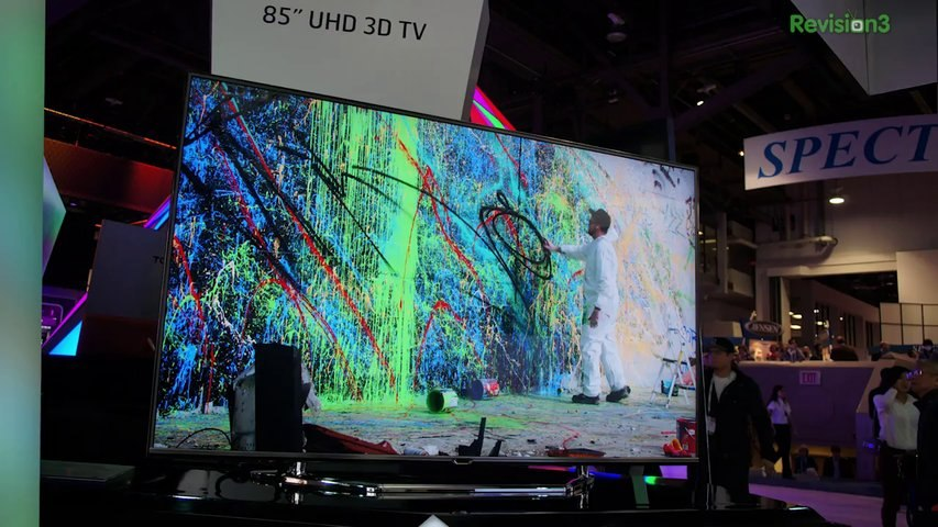 HD Nation from CES: 2014 HDTVs: OLED, Curved, 4K UHD, Plasma's Dead, Streaming 4K Content, MORE! - HD Nation
