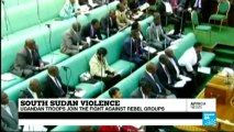 AFRICA NEWS - Ugandan troops battle South Sudan rebels