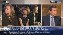 Le Soir BFM: Valérie Trierweiler est toujours à l'hôpital - 16/01 1/4