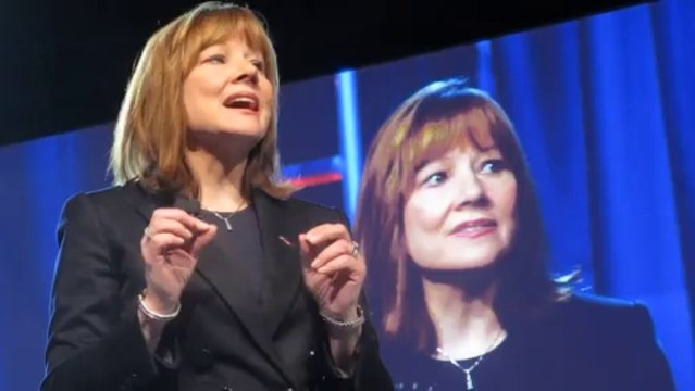 """MARY BARRA AT 2014 NAIAS: """"We listen to customers."""""""