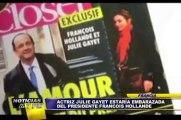 Noticias de las 7: la actriz Julie Gayet estaría embarazada de François Hollande (2/2)
