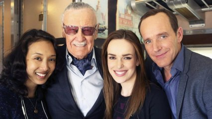 Stan Lee Comes To Agents OfSHIELD