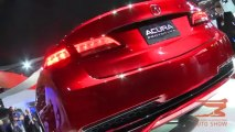 Acura 2015 TLX Prototype Unveiled at 2014 NAIAS in Detroit