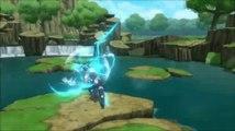 Naruto Shippuden Ultimate Ninja Storm 2 - Gameplay Kakashi vs Naruto & Sakura