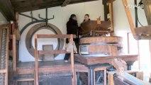 Georgiana chez vous : Le moulin à farine.