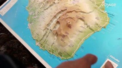 La quête des vents : Alizé, Le volcan Piton de la Fournaise
