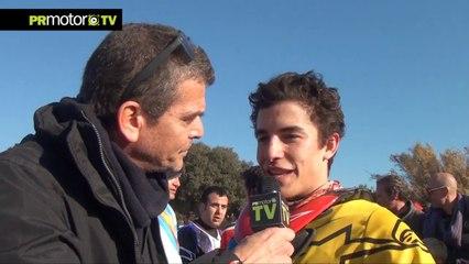 Entrevista a Marc Marquez - Campeón MotoGP 2013 - Evento Christmas TT Series en PRMotor TV (HD)