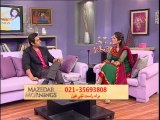 Mazedar Morning with Yasmeen on Indus TV 17-01-2014 part02