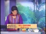 Mazedar Morning with Yasmeen on Indus TV 17-01-2014 part05