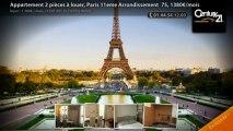 Appartement 2 pièces à louer, Paris 11eme Arrondissement  75, 1380€/mois
