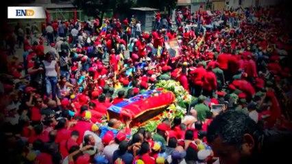 Último adios Chávez
