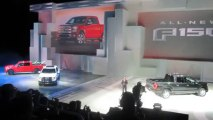 FORD F-150 PICKUP REVEAL at 2014 NAIAS Bob Giles NewCarNews.TV