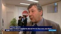 Lancement de campagne Philippe Nauche - France 3 Limousin Edition Locale Brive 16 janvier 2014