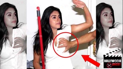 OMG | Asin's Breast Pressed In Public