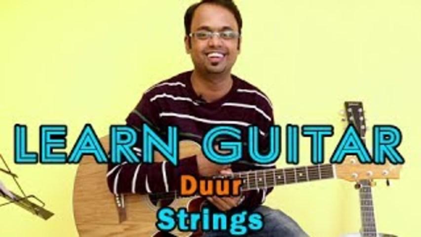 Duur Guitar Lesson – Strings – Faizal Kapadia, Bilal Maqsood