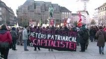 Européennes: Martin et Trautmann s'affichent unis à Strasbourg
