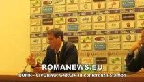 Roma Livorno Conferenza stampa Garcia