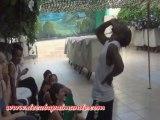 Demonstration d'Elégua avec Johnson Mayet-Voyage Salsa à Cuba Août 2013-De Cuba pa'l Mundo