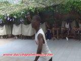 Demonstration d'Oggún avec Johnson Mayet-Voyage Salsa à Cuba Août 2013-De Cuba pa'l Mundo