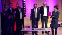 Signature à SciencesPo entre la Ministre Fleur Pellerin et SOS Entrepreneur, Re-créer, 60 000 Rebonds, Second Souffle.org, de la charte du Rebond