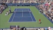 Novak Djokovic Vs Stanislas Wawrinka US Open 2013 Semi Finals Highlights HD